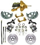 1974-78 MUSTANG II FRONT POWER DISC CONVERSION W/SPINDLES