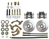55-58 CHEV STANDARD WHEEL KIT