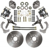 1974-78 MUSTANG II FRONT DISC WHEEL KIT W/ SPINDLES