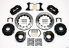 BIG FORD NEW STYLE WILWOOD SUPERLITE SL4R REAR DISC KIT