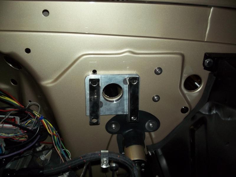Z Bracket on Truck Exhaust Parts