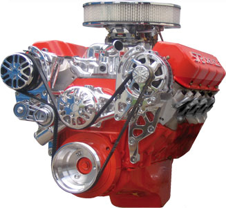 Big Block Chevy Victory Series Kit with Alternator and A/C WITHOUT POWER STEERING