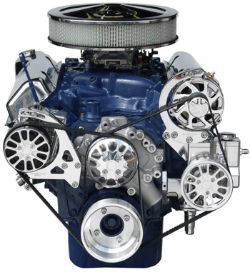 Ford 351C/351M-400 with Alternator, A/C and Power Steering