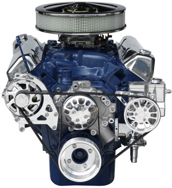 Ford 351C/351M-400 Kit with Alternator and Power Steering