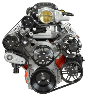 LS Chevy for Magnuson Supercharger Kit, Alternator, AC, & Power Steering