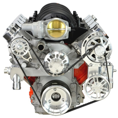 LS Chevy Victory Series Kit with Alternator & Power Steering