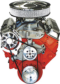 Small Block Chevy Basic Kit with Alternator only