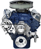 Ford 351M-400 Kit with Alternator with Machine Finish Brackets