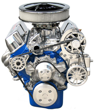 Small Block Ford Kit with Alternator and Power Steering for 351W Long Waterpump