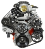LS Chevy for Magnuson Supercharger Kit, Alternator, AC, & Power Steering (Machine Finish brackets)