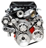 LS Chevy for Edelbrock Supercharger Kit, Alternator, AC, & Power Steering