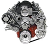LS Chevy Victory Series Pulley Systems with Alternator, AC, & Power Steering