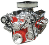 Small Block Chevy Victory Series Kit with Alternator, A/C and Power Steering
