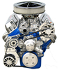 Small Block Ford Kit with Alternator and A/C (FOR 289/302 LONG WATERPUMP WITH MACHINE FINISH BRACKETS)