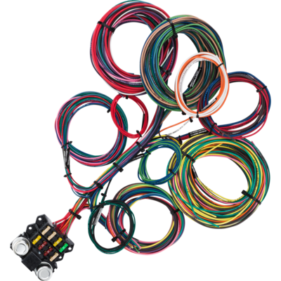 8 Circuit Budget Wire Harness