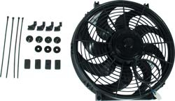 "16"" ELECTRIC FAN CURVED BLADE"