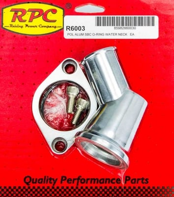 Aluminum Water Neck 1966-75 Small Block Chevy 283-350 V8