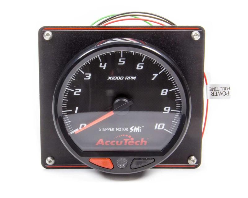 Accutech Smi Stepper Motor Memory Tach In Aluminum Panel