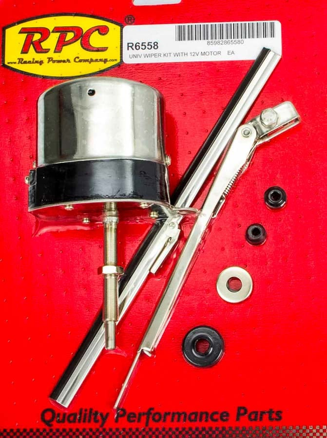 Race Cars For Sale >> Stainless 12V Motor and Wiper Kit - Universal Fit